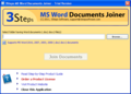 3Steps MS Word Documents Joiner 1