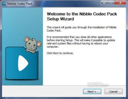Nibble Codec Screenshot 2