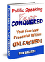 Public Speaking Fear Conquered (Ebook) 1