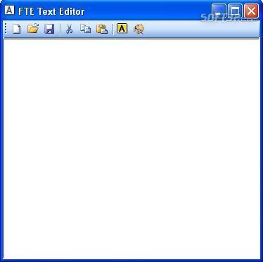 FTE Text Editor Screenshot 2