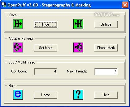 Puff Steganography & Watermarking Screenshot 2