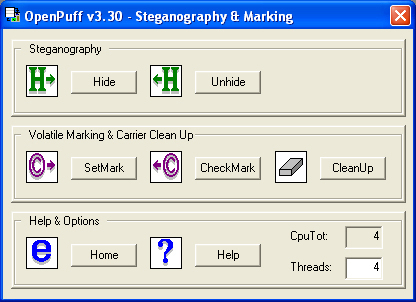 Puff Steganography & Watermarking Screenshot 3