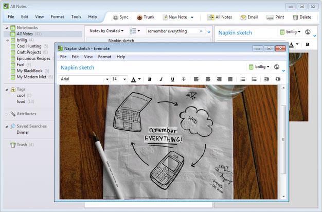 Evernote Screenshot 4