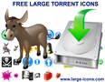 Free Large Torrent Icons 1