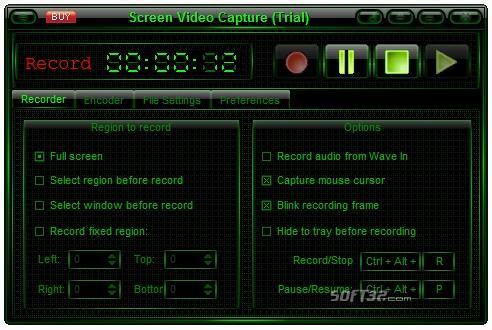 Screen Video Capture Screenshot 2