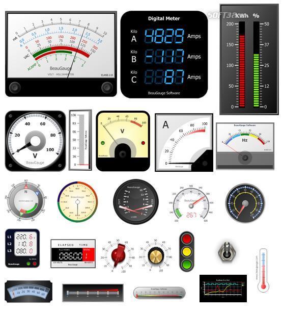 BeauGauge Gauge ActiveX Control Pro Screenshot 3