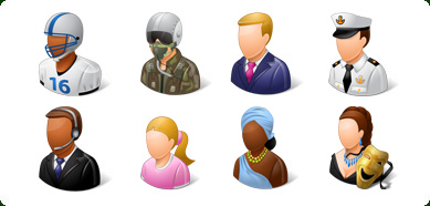 Icons-Land Vista Style People Icons Set Screenshot 1