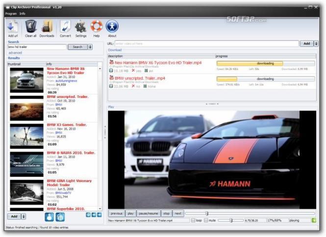 Clip Archiver Screenshot 2