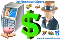 3d Financial Clipart 1