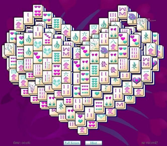 Heart Mahjong Solitaire Screenshot 2