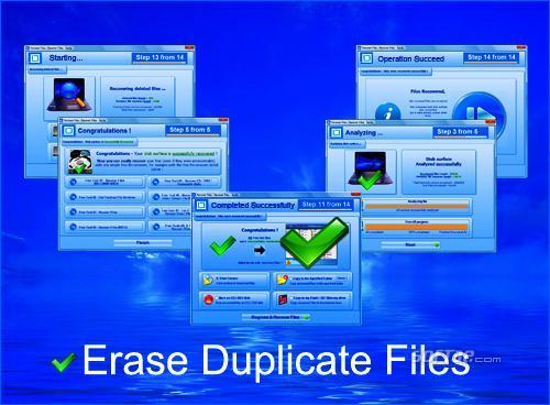 Erase Duplicate Files Screenshot 2