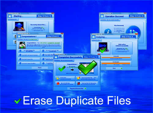 Erase Duplicate Files Screenshot