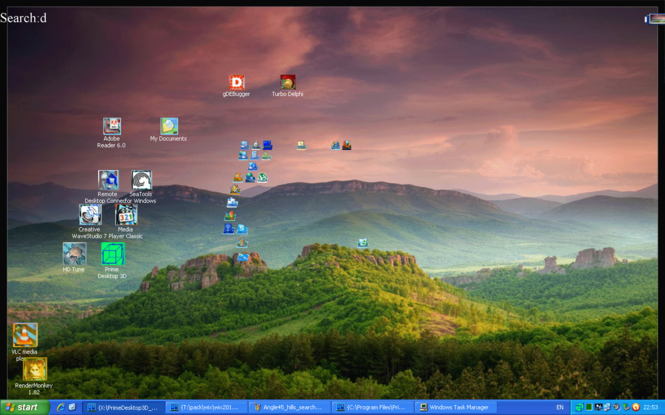 PrimeDesktop3D Screenshot 1