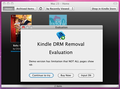 Kindle DRM Remvoal Mac 1