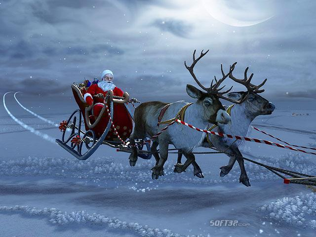 Santa Claus 3D Screensaver Screenshot 2