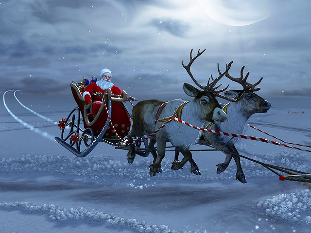 Santa Claus 3D Screensaver Screenshot 1