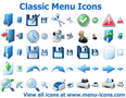 Classic Menu Icons 1