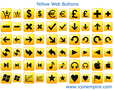 Yellow Web Buttons 1
