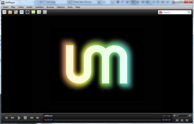 UMPlayer Screenshot