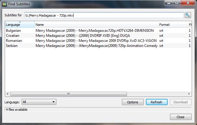 UMPlayer Screenshot 5