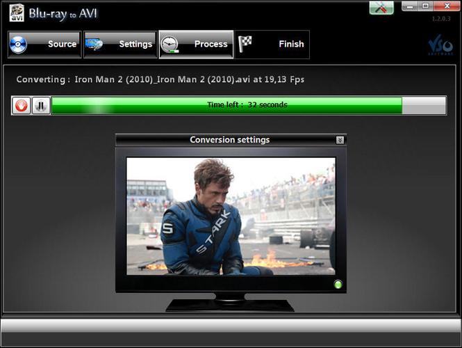 Blu-ray to Avi Screenshot 1