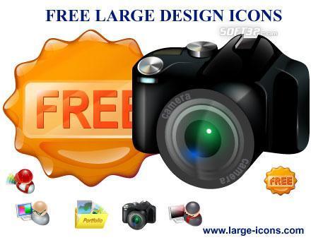 Free Large Design Icons Screenshot 2