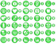 Green Medical Icons 1