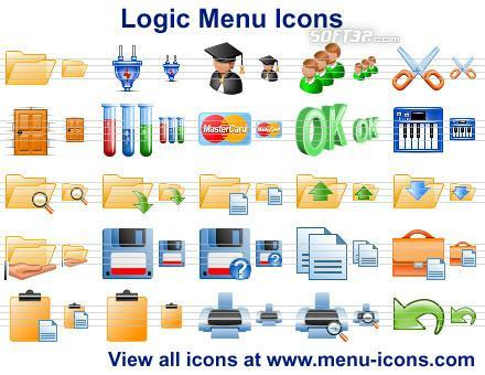 Logic Menu Icons Screenshot 2