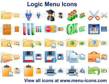 Logic Menu Icons Screenshot 1