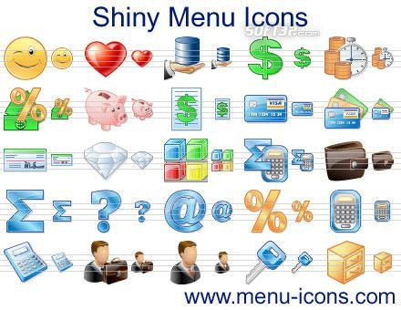 Shiny Menu Icons Screenshot 2