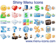 Shiny Menu Icons 1