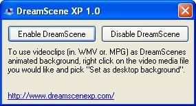 DreamScene XP Screenshot