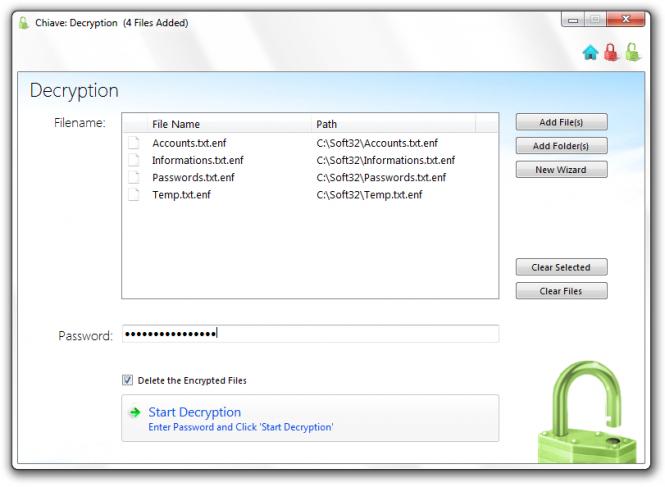 Chiave File Encryption Screenshot 3