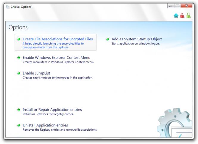 Chiave File Encryption Screenshot 4