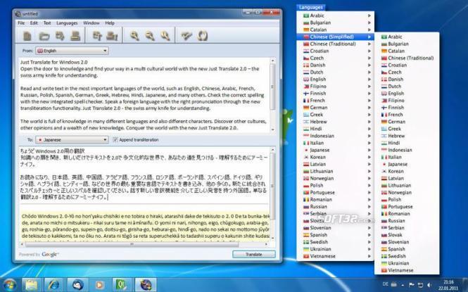 Just Translate for Windows Screenshot 3