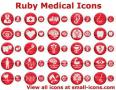 Ruby Medical Icons 3