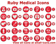 Ruby Medical Icons 1
