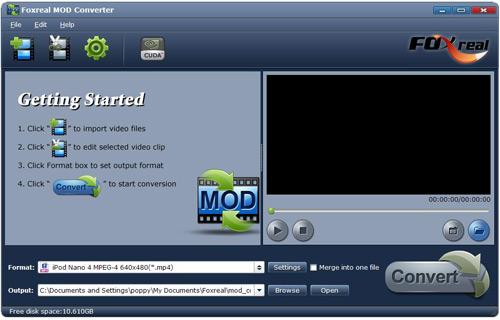 Foxreal MOD Converter Screenshot