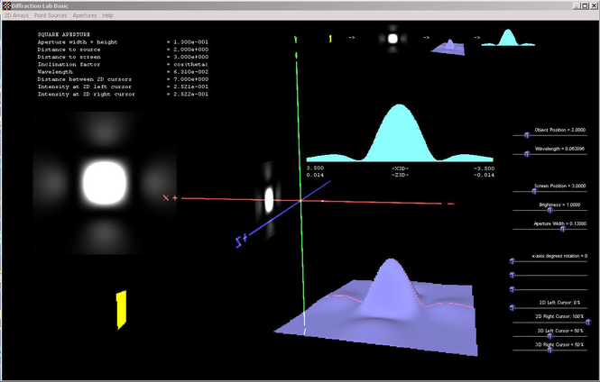 Diffraction Lab Basic Screenshot
