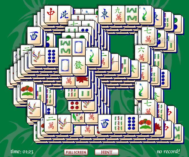 Window Mahjong Solitaire Screenshot 3