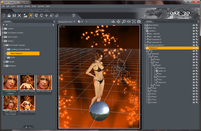 DAZ Studio Win32 Screenshot