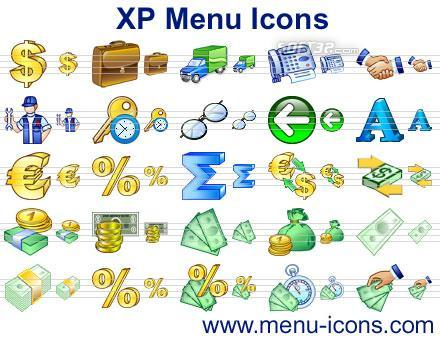 XP Menu Icons Screenshot 3