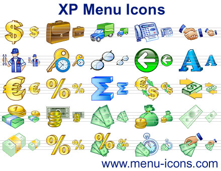 XP Menu Icons Screenshot 1