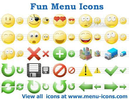 Fun Menu Icons Screenshot 2