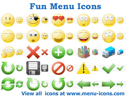Fun Menu Icons Screenshot