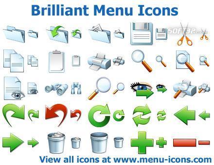 Brilliant Menu Icons Screenshot 2