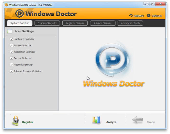 Windows Doctor Screenshot