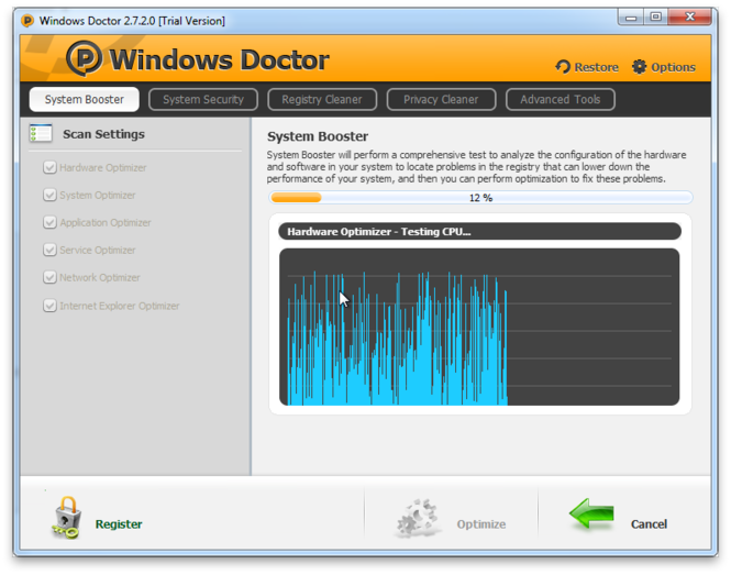 Windows Doctor Screenshot 2