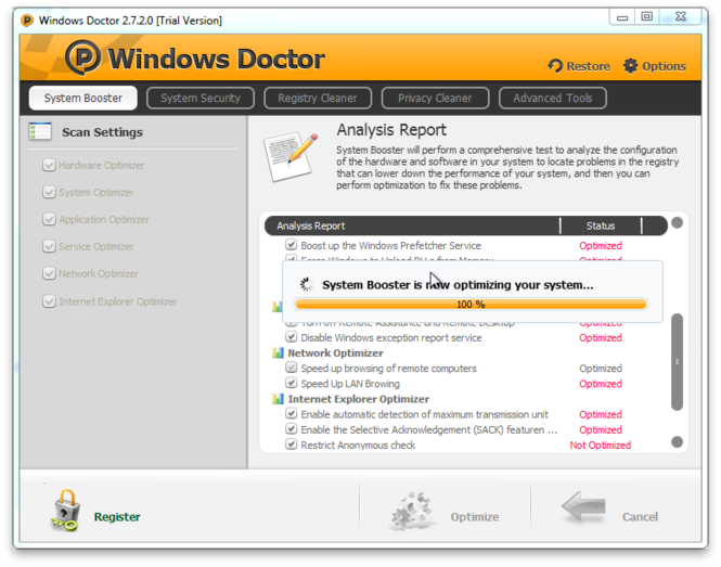 Windows Doctor Screenshot 3