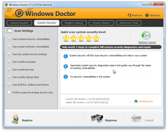 Windows Doctor Screenshot 4